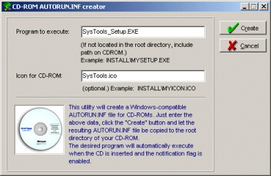 Tool #3: The AUTORUN INF creator